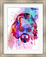 Framed Dude Watercolor