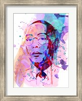 Framed Gustavo Watercolor