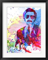 Framed Anchorman Watercolor 2