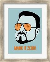 Framed Mark it Zero 1