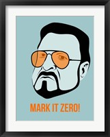 Framed Mark it Zero 1