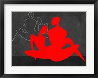 Framed Red Couple 3