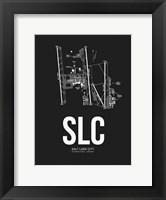 Framed Salt Lake City Airport Black