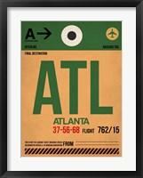 Framed ATL Atlanta Luggage Tag 1