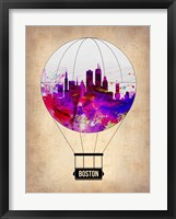 Framed Boston Air Balloon