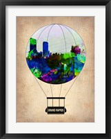 Framed Grand Rapids Air Balloon