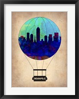Framed Indianapolis Air Balloon