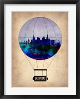 Framed Las Vegas Air Balloon