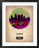 Framed Phoenix Air Balloon