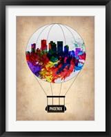 Framed Phoenix Air Balloon 2