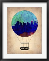 Framed Portland Air Balloon