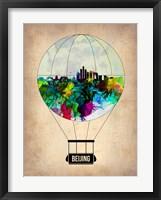 Framed Beijing Air Balloon