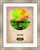 Framed Berlin Air Balloon