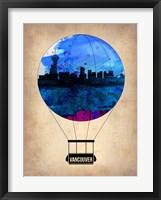Framed Vancouver Air Balloon