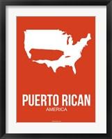 Framed Puerto Rican America 3