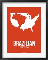 Framed Brazilian America 1