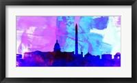Framed Washington DC City Skyline