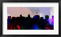 Framed Madison City Skyline