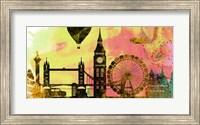 Framed London City Skyline