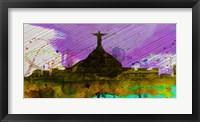 Framed Rio City Skyline