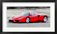 Framed 2002 Ferrari Enzo