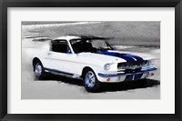 Framed Ford Mustang Shelby