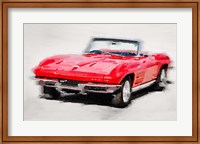 Framed 1964 Corvette Stingray
