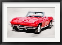Framed 1964 Corvette Stingray