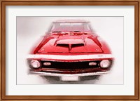 Framed 1968 Chevy Camaro Front End