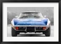Framed 1972 Corvette Front End