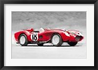 Framed 1957 Ferrari Testarossa
