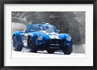 Framed 1964 AC Cobra Shelby Racing