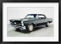 Framed 1966 Pontiac GTO