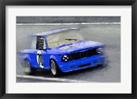 Framed 1969 BMW 2002 Racing