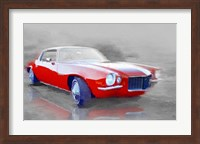 Framed 1970 Chevy Camaro