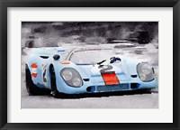 Framed Porsche 917 Gulf
