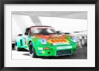 Framed Porsche 911 Turbo