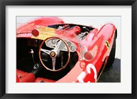 Framed Ferrari Cockpit Monterey