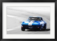 Framed Corvette Stingray Laguna Seca