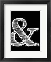Framed Ampersand 2