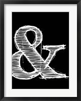 Framed Ampersand 2
