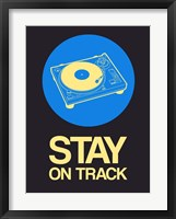 Framed Stay On Track Record Player 2