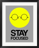 Framed Stay Focused Circle 2
