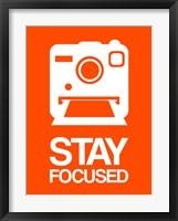 Framed Stay Focused Polaroid Camera 3