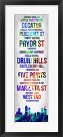 Framed Streets of Atlanta 1