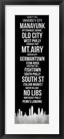 Framed Streets of Philadelphia 2