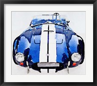 Framed 1962 AC Cobra Shelby