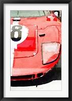 Framed 1964 Ford GT40 Front Detail