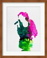 Framed Gwen Watercolor