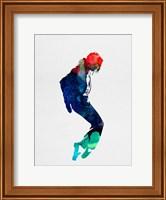 Framed Michael Watercolor